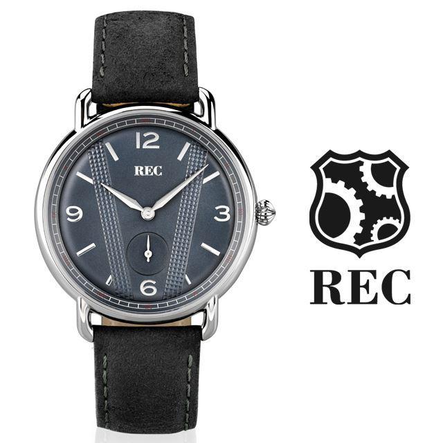 REC Watches レックウォッチ メンズ 腕時計 The Cooper C1 [ミニクーパー/MINI/クラシックカー/ブラック/黒/レザー/国内正規販売店/Authorized Dealer]