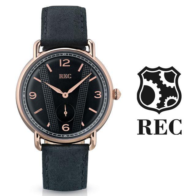 REC Watches レックウォッチ メンズ 腕時計 The Cooper C3 [ミニクーパー/MINI/クラシックカー/ブラック/黒/レザー/国内正規販売店/Authorized Dealer]