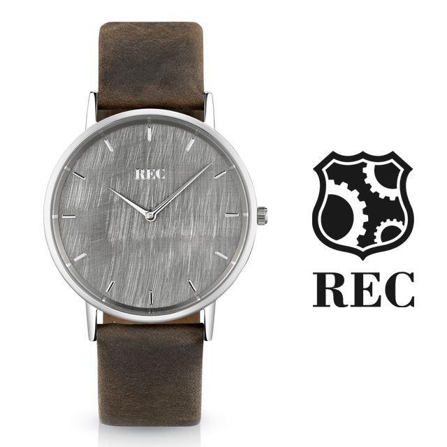 REC Watches レックウォッチ メンズ 腕時計 The Minimalist L1 [ミニクーパー/MINI/クラシックカー/ブラウン/レザー/国内正規販売店/Authorized Dealer]