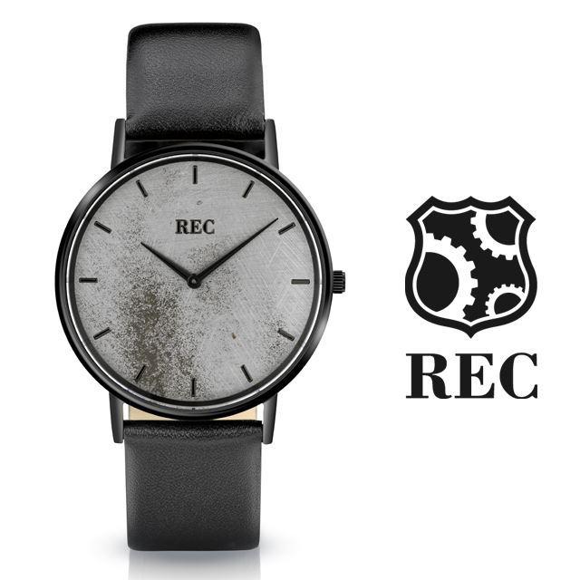 REC Watches レックウォッチ メンズ 腕時計 The Minimalist L3 [ミニクーパー/MINI/クラシックカー/ブラック/黒/レザー/国内正規販売店/Authorized Dealer]