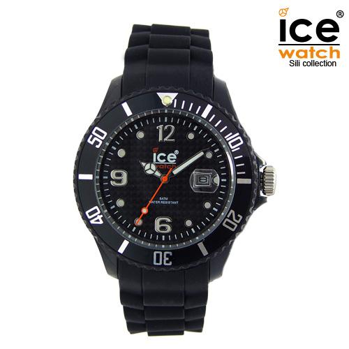 ice watch アイスウォッチ メンズ レディース 腕時計 ICE forever アイスフォーエバー ユニセックス BLACK ブラック 000133 [定番モデル/シリコンストラップ/国内正規販売店/Authorized Dealer]