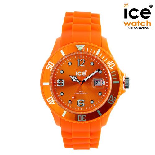 ice watch アイスウォッチ メンズ レディース 腕時計 ICE forever アイスフォーエバー ユニセックス ORANGE オレンジ 000138 [定番モデル/シリコンストラップ/国内正規販売店/Authorized Dealer]