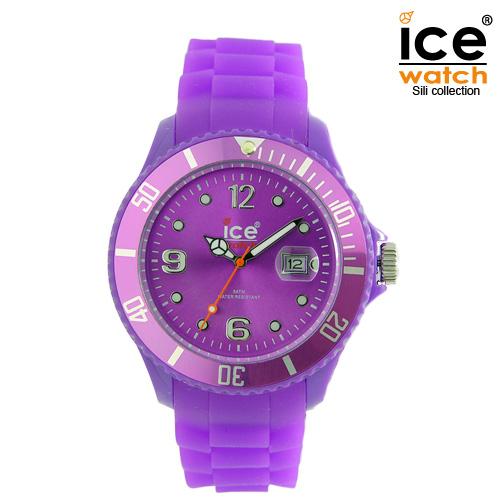 ice watch アイスウォッチ メンズ レディース 腕時計 ICE forever アイスフォーエバー ユニセックス PURPLE パープル 000141 [定番モデル/シリコンストラップ/国内正規販売店/Authorized Dealer]