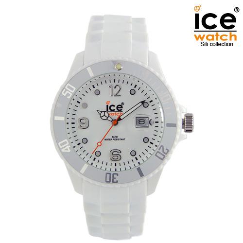 ice watch アイスウォッチ メンズ レディース 腕時計 ICE forever アイスフォーエバー ユニセックス WHITE ホワイト 000134 [定番モデル/シリコンストラップ/国内正規販売店/Authorized Dealer]
