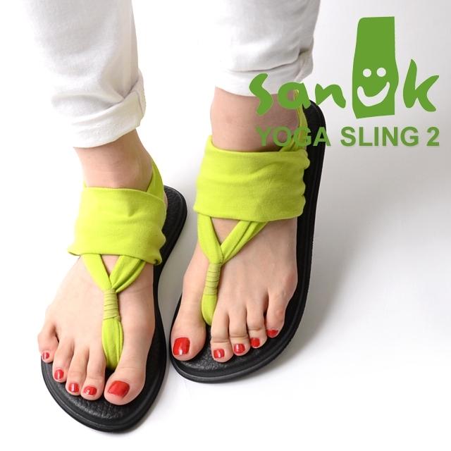 Sanuk サヌーク レディース サンダル YOGA SLING 2 ヨガスリング2 シトロン SWS10001-CIT [ストラップ/ヨガマット/国内正規販売店/イエロー]
