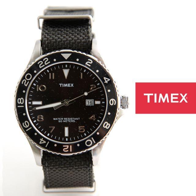 TIMEXタイメックスKALEIDOSCOPENATOカレイドスコープNATOT2P029-B【ミリタリー/男性用/女性用】