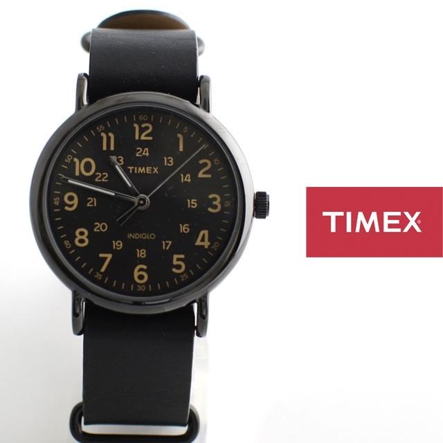 TIMEXタイメックスWEEKENDER40ウィークエンダーフォーティー革ストラップNATOストラップT2P494