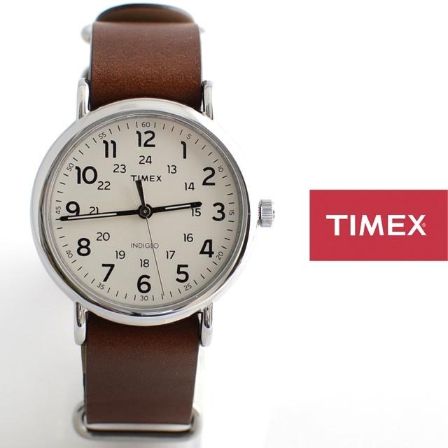 TIMEXタイメックスWEEKENDER40ウィークエンダーフォーティー革ストラップNATOストラップT2P495【男性用/女性用/本革】