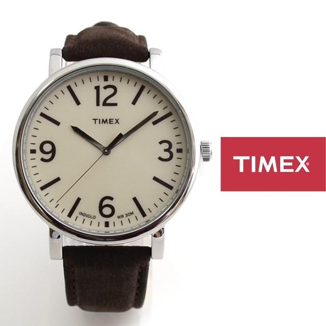 TIMEX タイメックス 腕時計 革ベルト レザーストラップ CLASSIC ROUND クラシック ラウンド T2P526