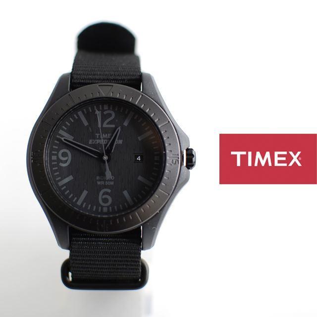 TIMEXタイメックス腕時計ミリタリーナイロンベルトEXPEDITIONエクスペディションALUMINUMCAMPERアルミニウムキャンパーT49933