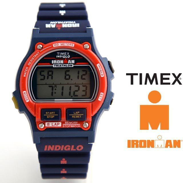 【予約 9月上旬発売予定】TIMEX タイメックス Ironman 8-Lap 1986 Edition アイアンマン 8ラップ 1986エディション 日本限定カラー Team USA T5K841 【復刻 限定モデル 星条旗カラー バルセロナ オリンピック ドリーム・チーム ゴールド】