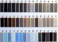リボン印絹糸 カラー/#46〜#90 #50/130m巻 絹100%