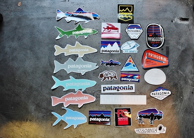 PATAGONIA STICKER SET
