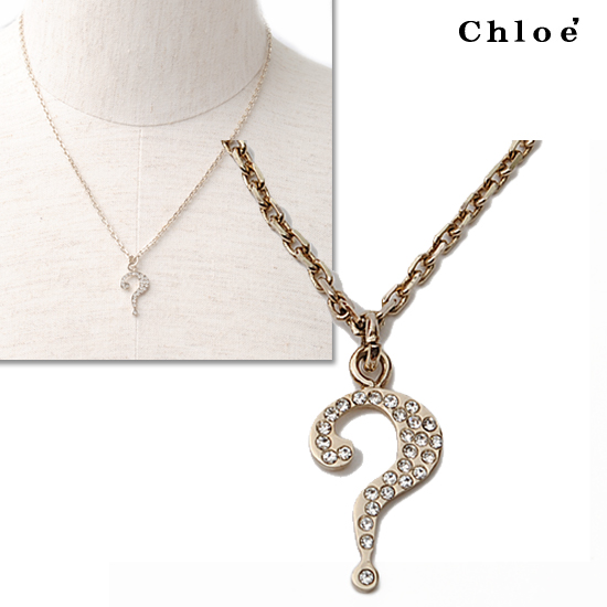 super popular 62941 34b7b Chloe クロエ アクセサリー ネックレス ライトゴールド 2O0354-AG7-097【新品】【送料無料】