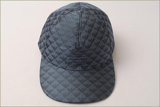 new concept 5d6fa d0131 エンポリオアルマーニ キャップ/帽子 EMPORIO ARMANI メンズ ベースボールキャップ ロゴ/ブルー 627766 7P507 00532