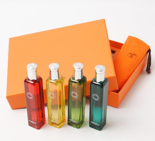 reputable site 4bd03 81eaf エルメス 香水 4本セット HERMES オーデコロン コレクション セット