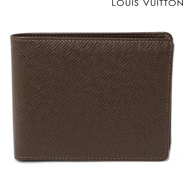ルイヴィトン LOUIS VUITTON 折財布/ポルトフォイユ・フロリン M31118 タイガ グリズリ