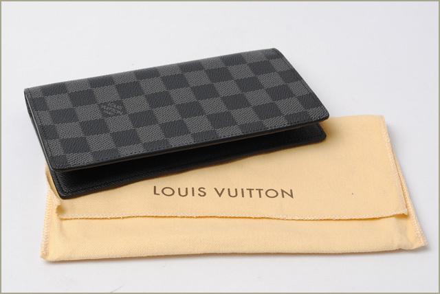 timeless design 51eb3 0f53e ルイヴィトン 財布 メンズ LOUIS VUITTON ダミエ・グラフィット 長財布 ポルトフォイユ ロン N62227