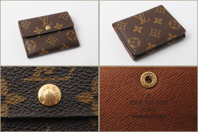 check out b76ee 8fb76 ルイヴィトン コインケース/カードケース LOUIS VUITTON ラドロー M61927 モノグラム