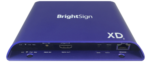 XD233キャンペーン特価 ■ BrightSign XD233 【型番】BS/XD233 ※店頭取り扱い