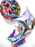 誕生日祝ギフト「送料無料 宇宙戦隊キュウレンジャー・バルーン・バースデー」バルーン電報になります。