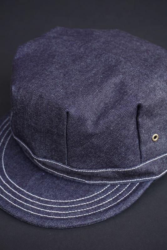 B.S.M.G. WORK - CAP INDIGO