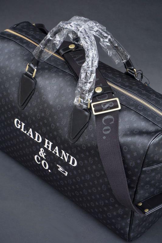"""GLAD HAND×PORTER GH BAGGAGE MONOGRAM """"Large """" SP #002"""