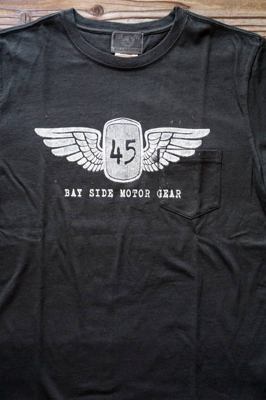 B.S.M.G. 45 - S/S T-SHIRTS WHITE