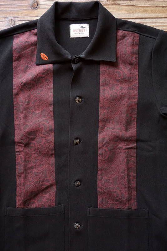 GANGSTERVILLE GIN MILL - S/S SHIRTS BLACK