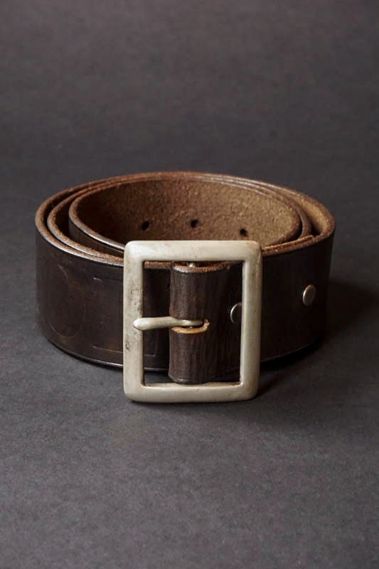 OLD CROW OLD RODDER - BELT BLACK