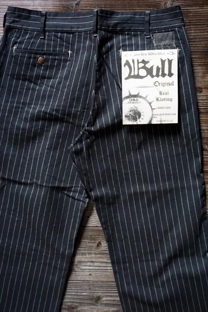 B.S.M.G. WORK PANTS BLACK