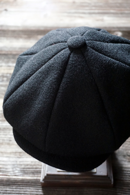 BY GLAD HAND GLADDEN WOOL - CASQUETTE BLACK