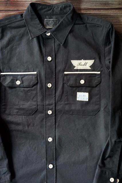 B.S.M.G. WORK SHIRTS BLACK