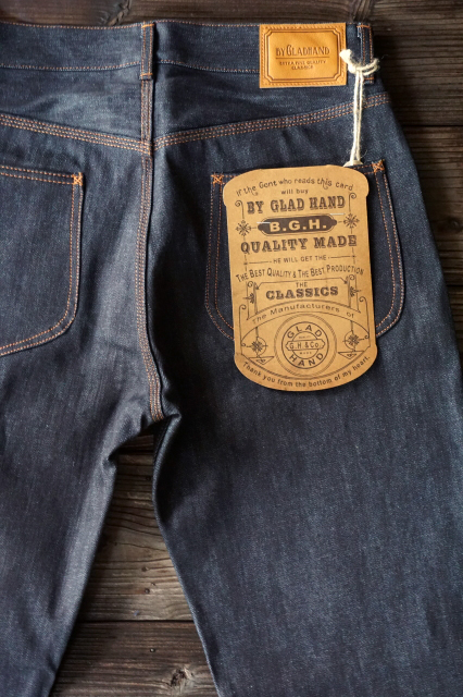 BY GLAD HAND GLADDEN DENIM PANTS NO WASH