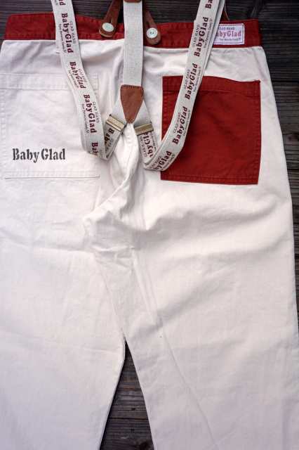 BY GLAD HAND CANDY PANTS サスペンダーSET  IVR×BGD