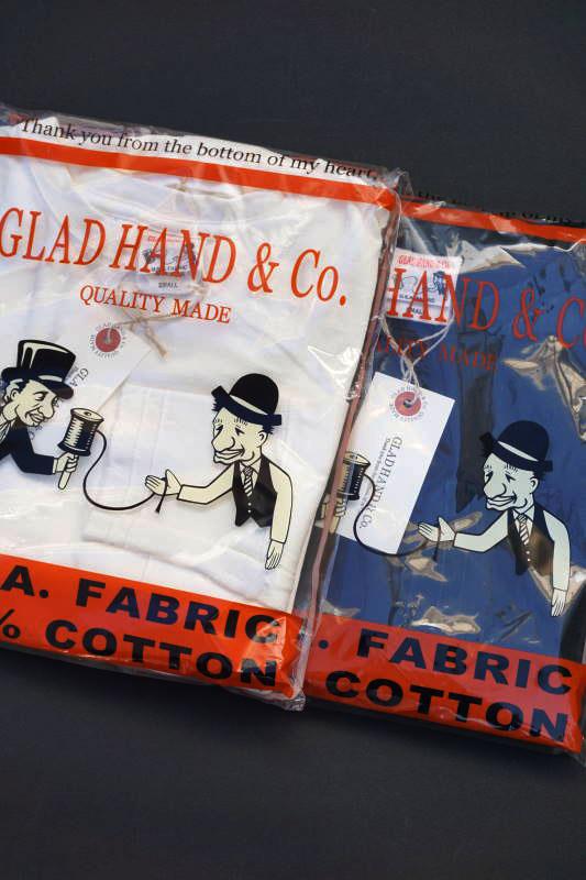 "GLAD HAND STANDARD POCKET L/S T-SHIRTS ""USED"""
