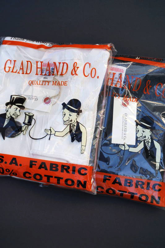 "GLAD HAND WAFFLE L/S T-SHIRTS ""USED"""