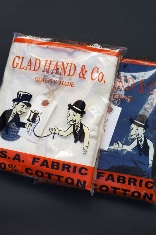"GLAD HAND THICK L/S T-SHIRTS ""USED"""