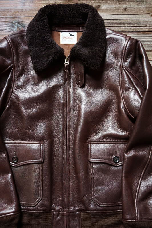 "GANGSTERVILLE G-1 ""COW HIDE"" BROWN"