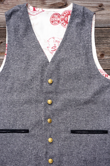 BY GLAD HAND GH GUMBALL VEST GRAY