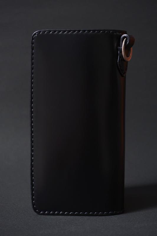 Basella Wallet - Cordovan BLACK
