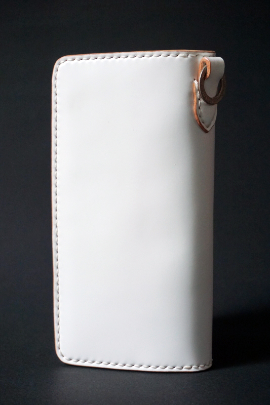 Basella Wallet - Cordovan WHITE