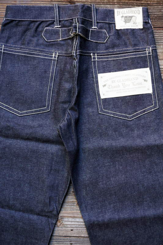 "BY GLAD HAND GLADDEN - DENIM ""TYPE-2"" IVR RIGID"