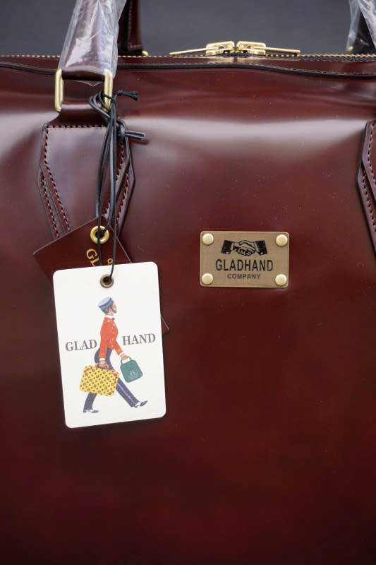 "GLAD HAND×PORTER GH BAGGAGE BROWN ""Large """