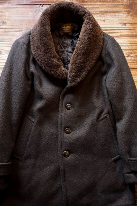 BY GLAD HAND GLADDEN - DONKEY COAT BLACK