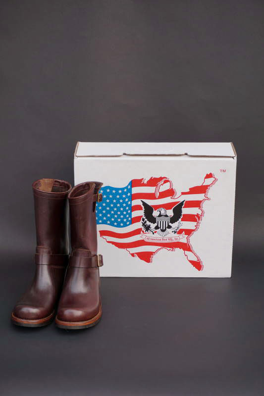 GLAD HAND & Co. - USA BOOTS GH - JOYRIDE BROWN