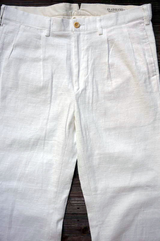 BY GLAD HAND VOYAGE - PANTS WHITE