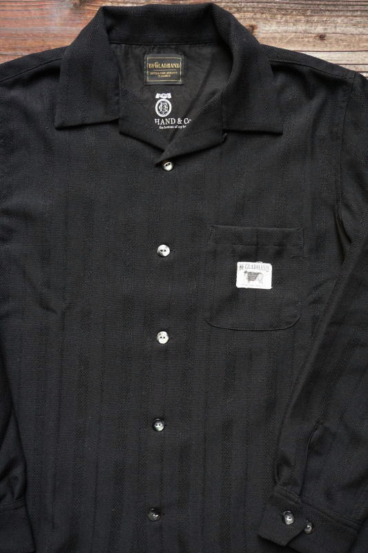 BY GLAD HAND RESORT - LONG SLEEVE SHIRTS BLACK