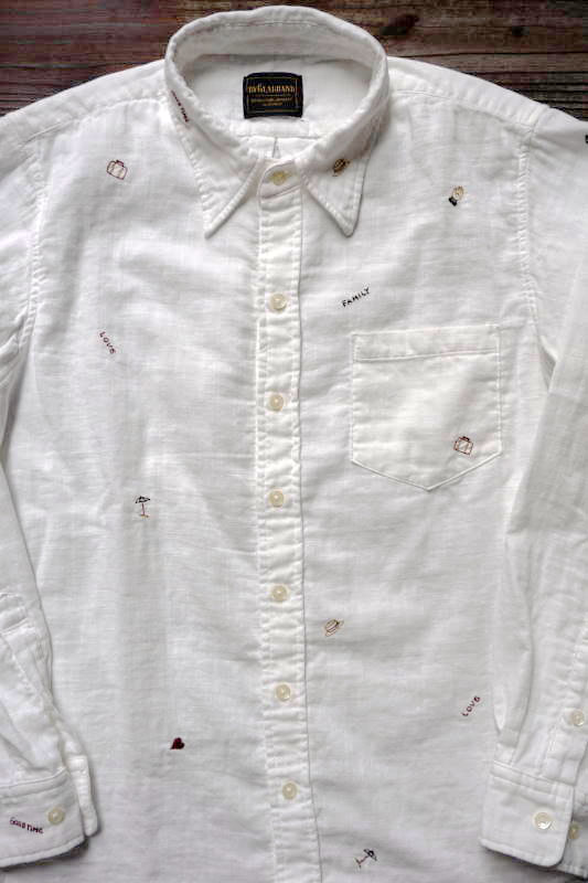 BY GLAD HAND TRAVEL - LONG SLEEVE SHIRTS WHITE