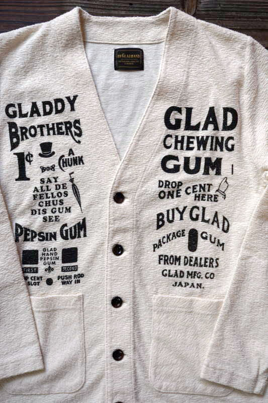 BY GLAD HAND GLAD CHEWING GUM - CARDIGAN IVORY